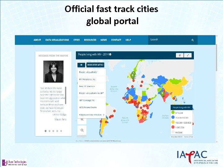Official fast track cities global portal