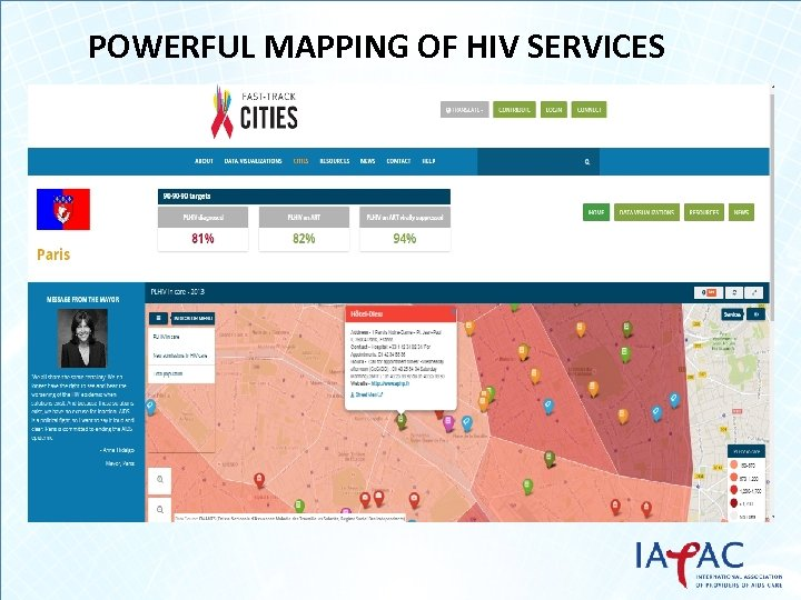 POWERFUL MAPPING OF HIV SERVICES