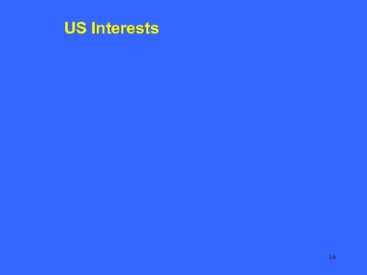 US Interests 14