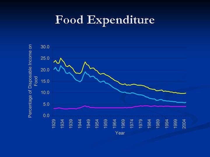 Food Expenditure