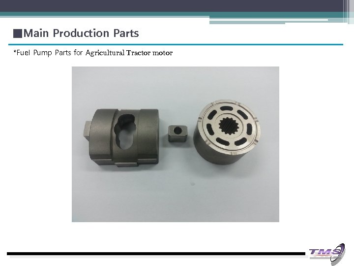 ■Main Production Parts *Fuel Pump Parts for Agricultural Tractor motor