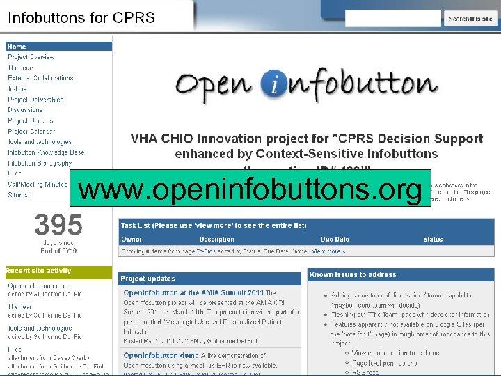 www. openinfobuttons. org