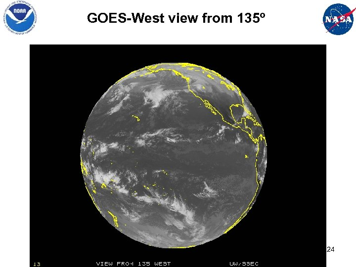 GOES-West view from 135º 24