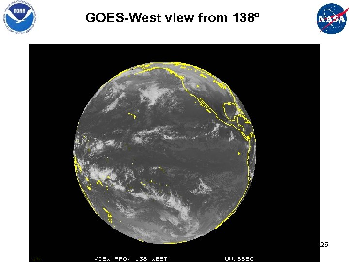 GOES-West view from 138º 25