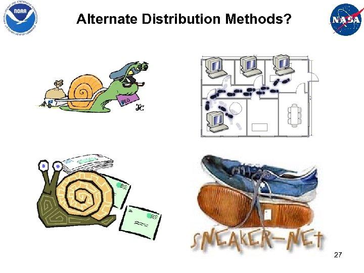 Alternate Distribution Methods? 27