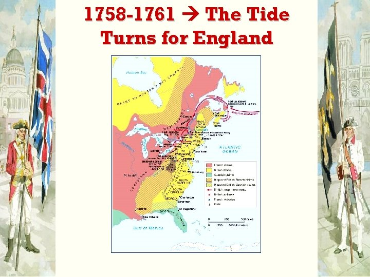 1758 -1761 The Tide Turns for England