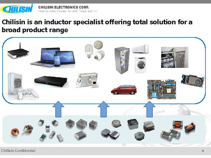 Chilisin is an inductor specialist offering total solution for a broad product range Chilisin