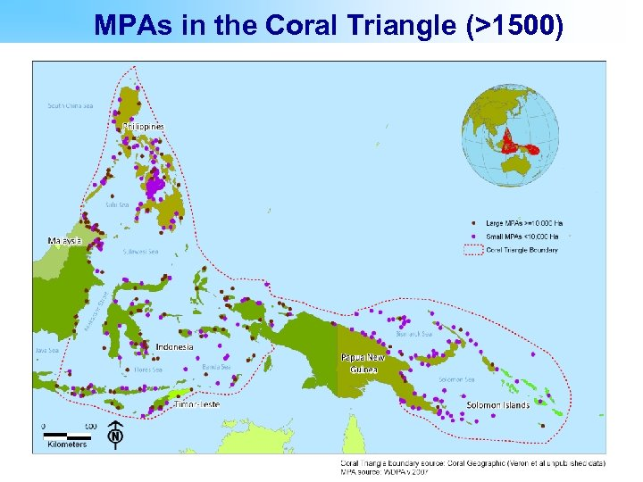 MPAs in the Coral Triangle (>1500)