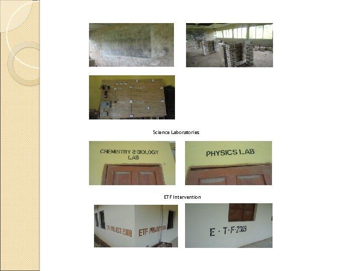 Science Laboratories ETF Intervention
