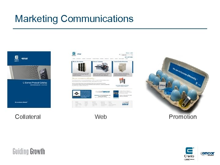 Marketing Communications Collateral Web Promotion