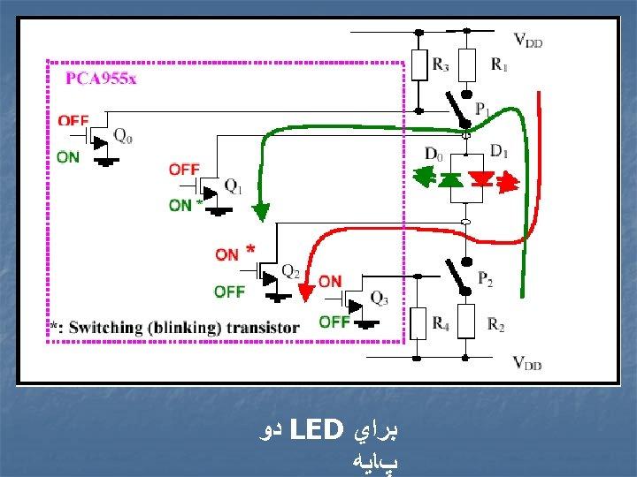 ﺑﺮﺍﻱ LED ﺩﻭ پﺎﻳﻪ
