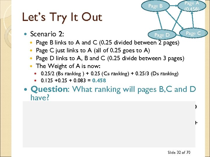 Page A (0. 458) Page B Let's Try It Out Scenario 2: Page D