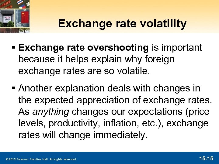 Exchange rate volatility § Exchange rate overshooting is important because it helps explain why