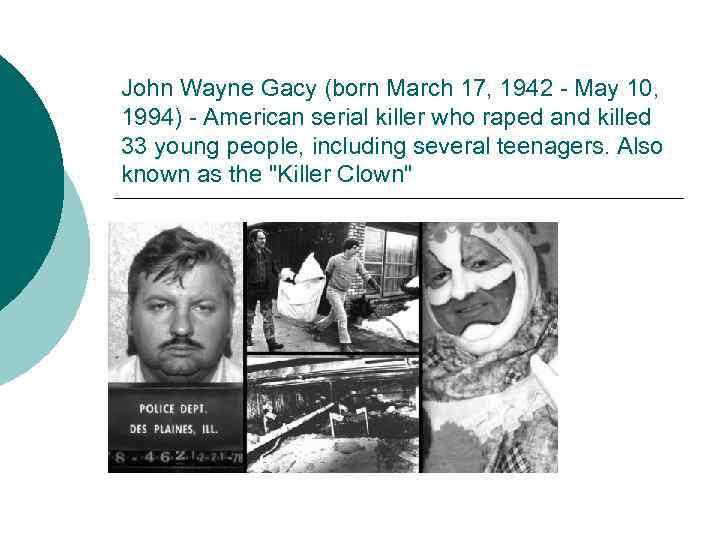 when was john wayne gacy born