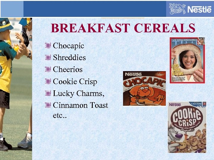 BREAKFAST CEREALS Chocapic Shreddies Cheerios Cookie Crisp Lucky Charms, Cinnamon Toast etc. .