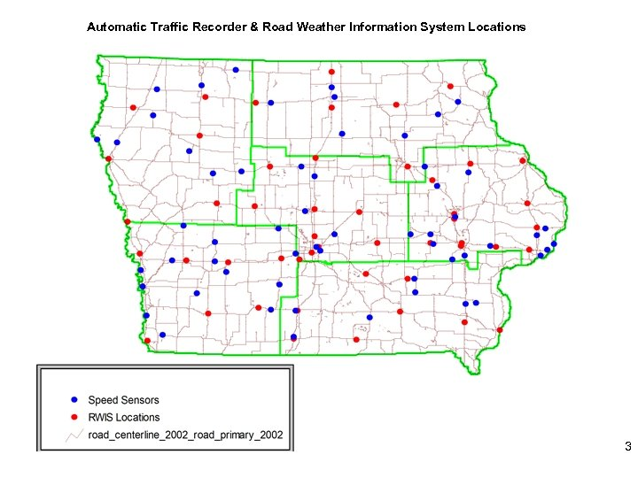 Automatic Traffic Recorder & Road Weather Information System Locations 3