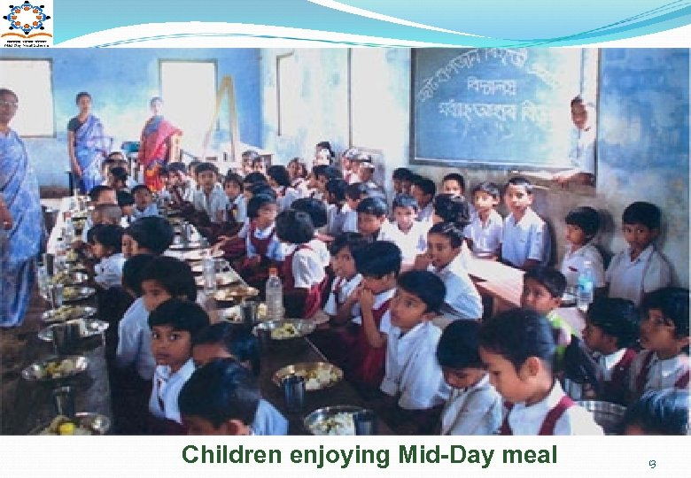 Children enjoying Mid-Day meal 13