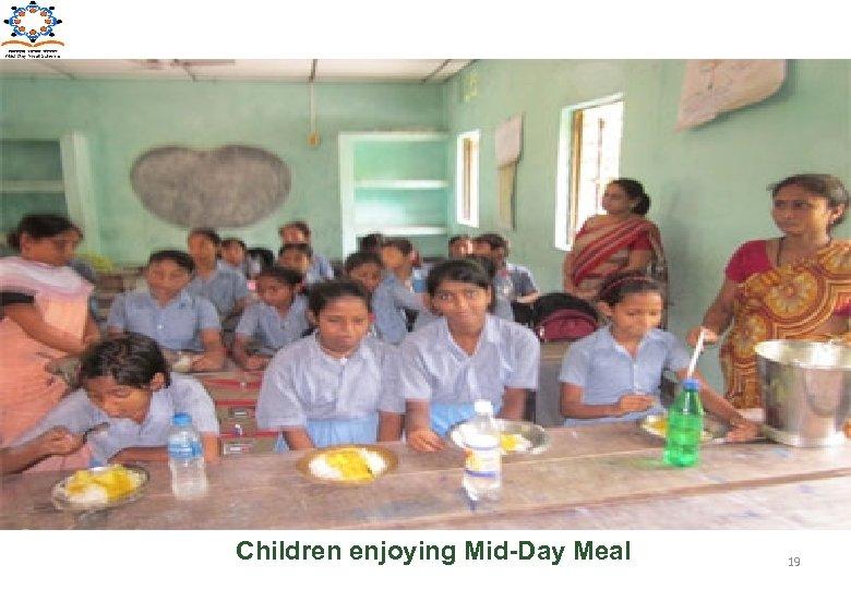 Children enjoying Mid-Day Meal 19
