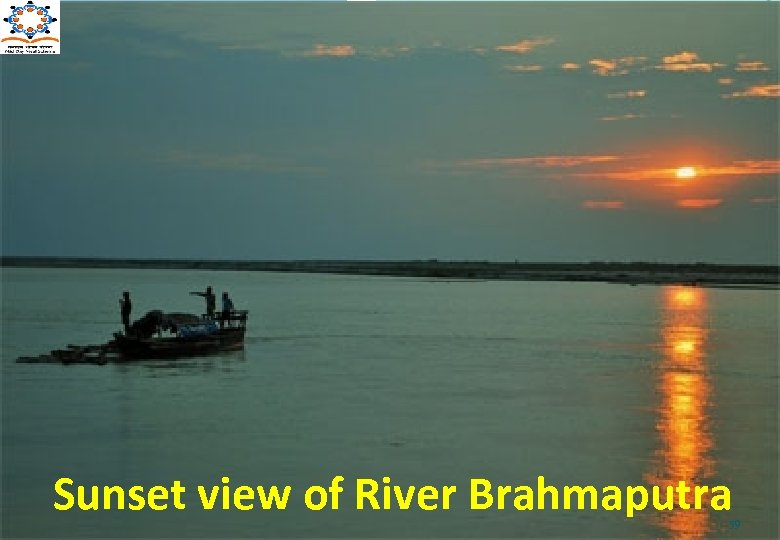 Sunset view of River Brahmaputra 59