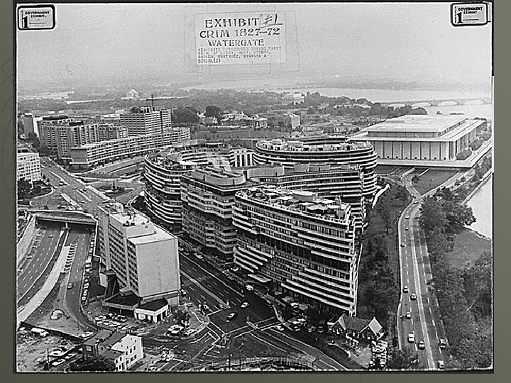 The complex. The Kennedy Center is visible in the background. The boxy building at