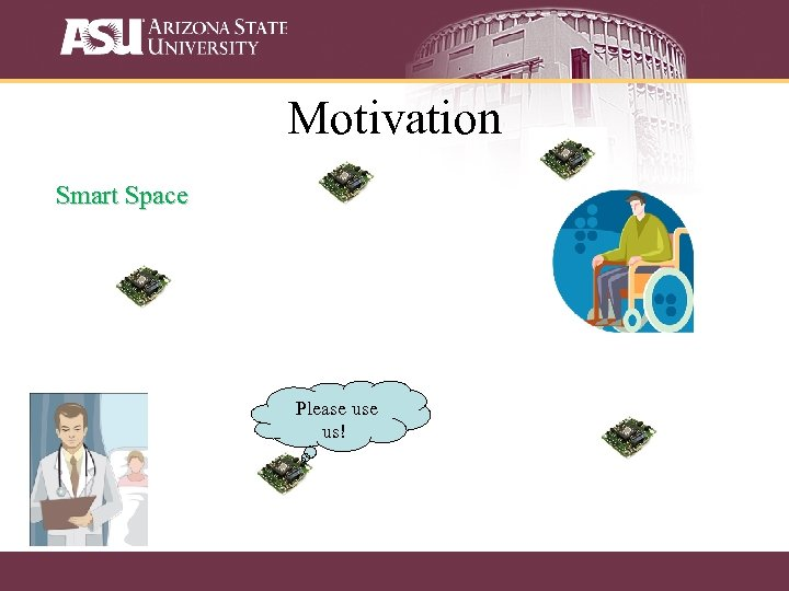 Motivation Smart Space Please us!