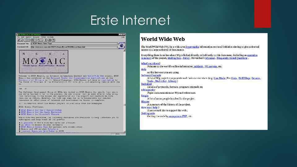 Erste Internet