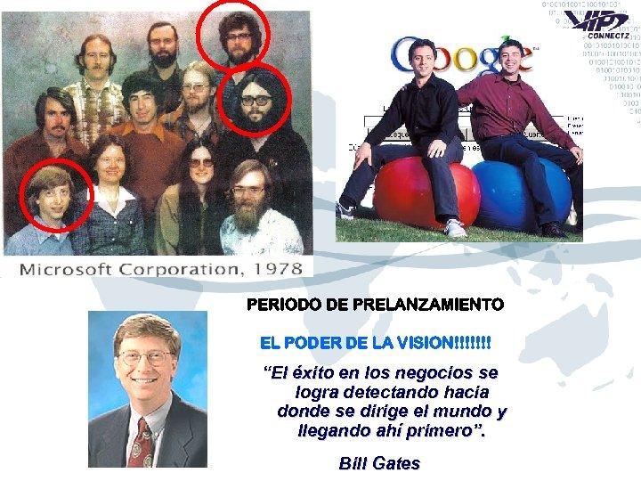 """PERIODO DE PRELANZAMIENTO EL PODER DE LA VISION!!!!!!! """"El éxito en los negocios se"""