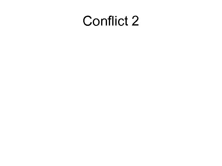 Conflict 2