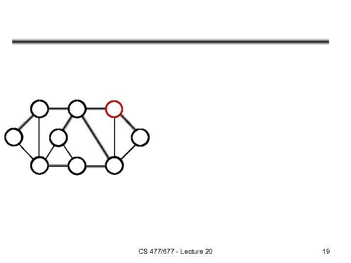 CS 477/677 - Lecture 20 19