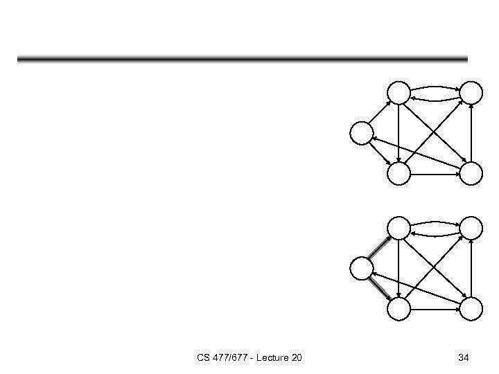 CS 477/677 - Lecture 20 34