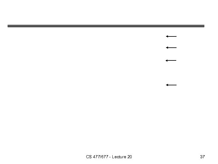 CS 477/677 - Lecture 20 37
