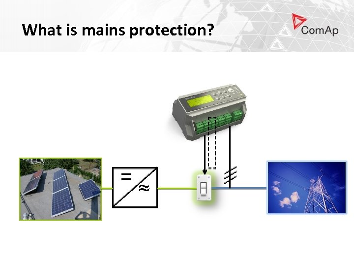 What is mains protection? = ≈