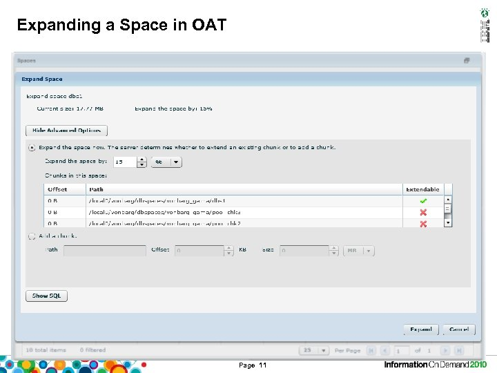 Expanding a Space in OAT Page 11