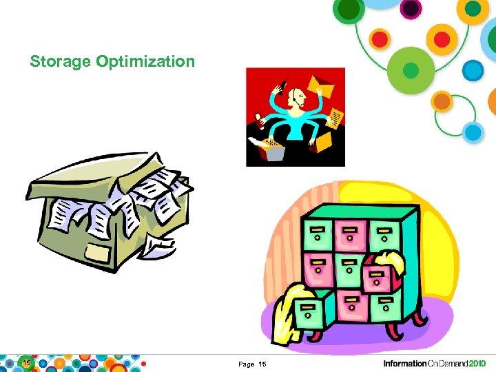 Storage Optimization 15 Page 15