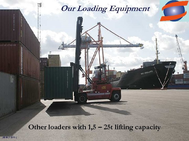 Our Loading Equipment Other loaders with 1, 5 – 25 t lifting capacity |