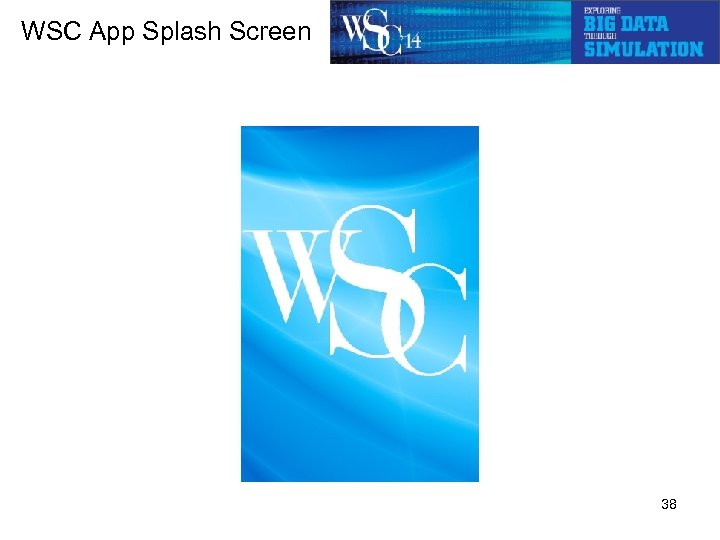 WSC App Splash Screen 38