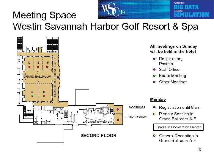 Meeting Space Westin Savannah Harbor Golf Resort & Spa All meetings on Sunday will