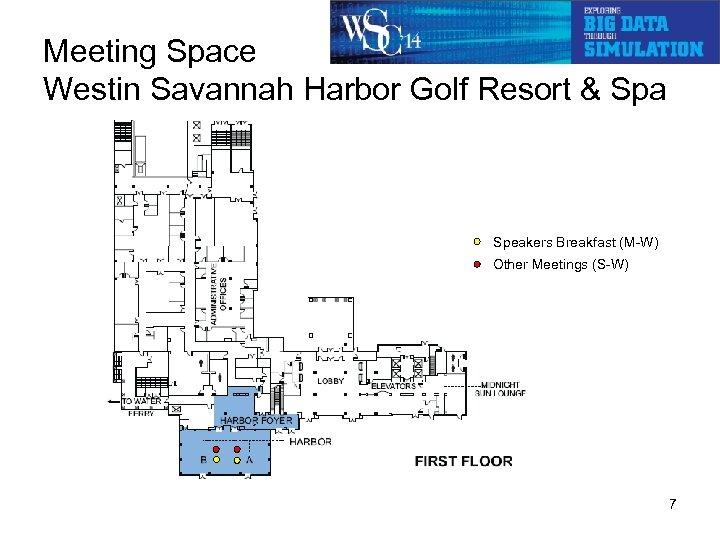 Meeting Space Westin Savannah Harbor Golf Resort & Spa Speakers Breakfast (M-W) Other Meetings