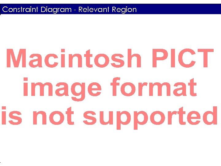 Constraint Diagram - Relevant Region System Definition Review - AAE 451 - Team 5