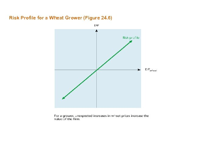 Risk Profile for a Wheat Grower (Figure 24. 6)