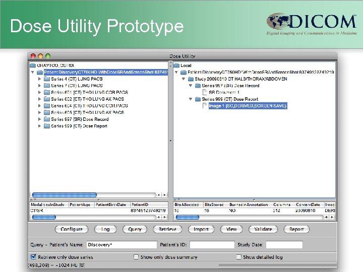 Dose Utility Prototype
