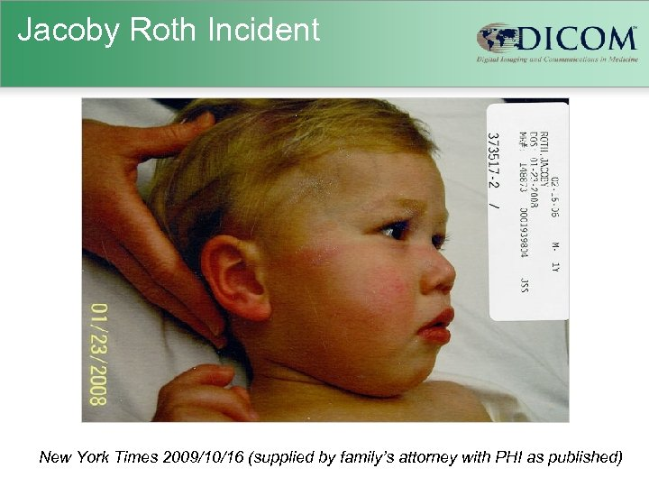 Jacoby Roth Incident New York Times 2009/10/16 (supplied by family's attorney with PHI as