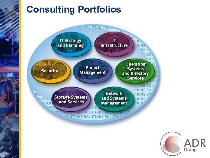 Consulting Portfolios 7