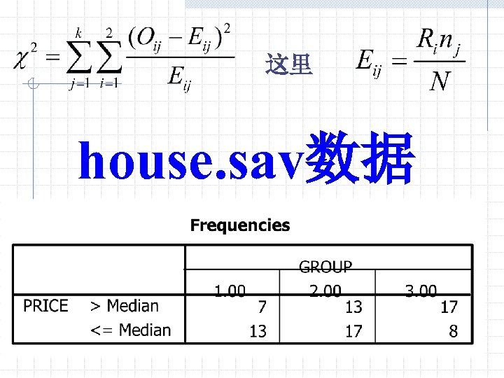 这里 house. sav数据
