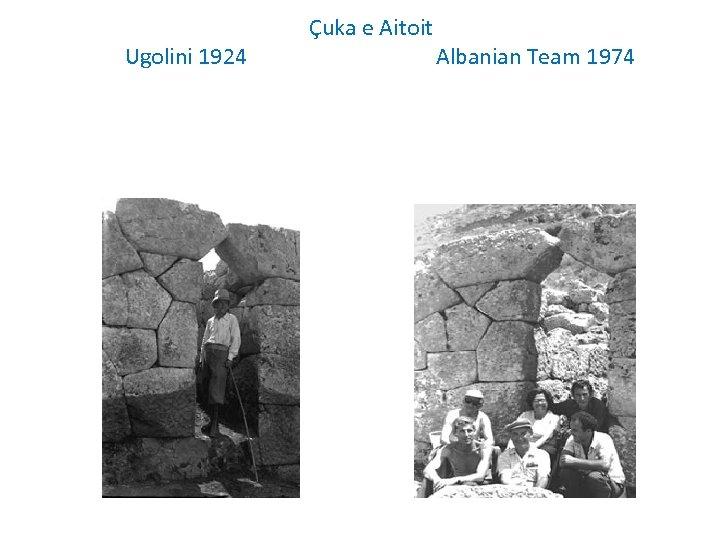 Ugolini 1924 Çuka e Aitoit Albanian Team 1974