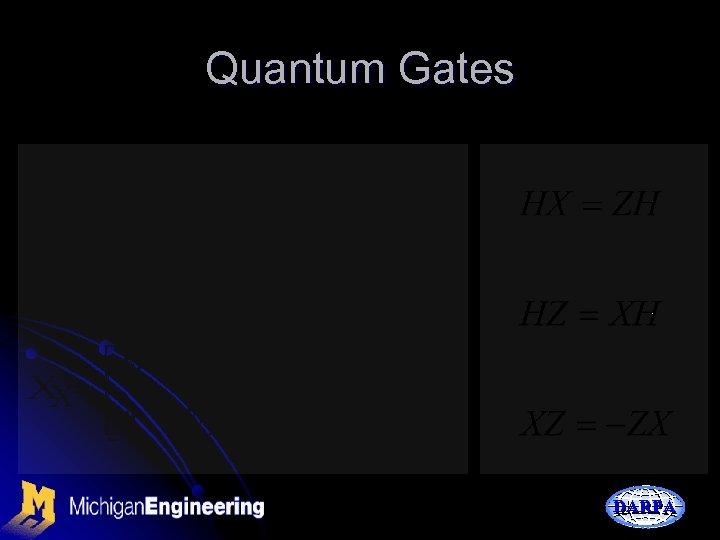 Quantum Gates DARPA