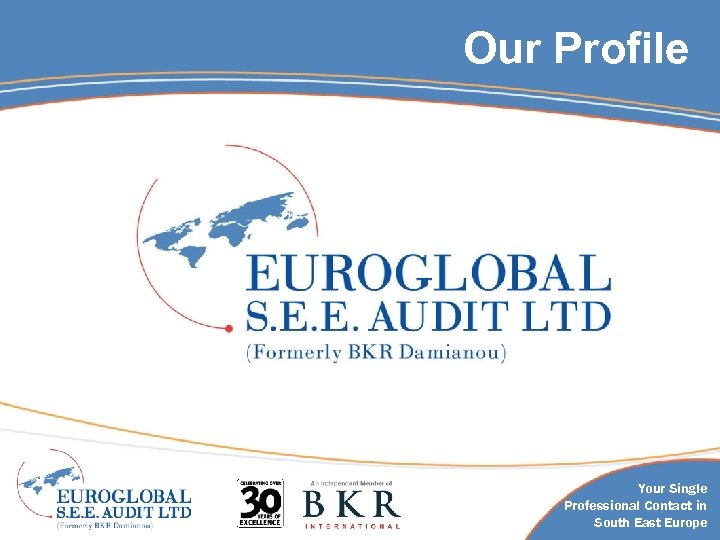Our Profile Your Single Professional Contact in South East Europe