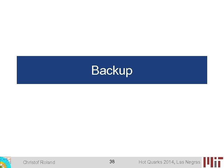 Backup Christof Roland 38 Hot Quarks 2014, Las Negras