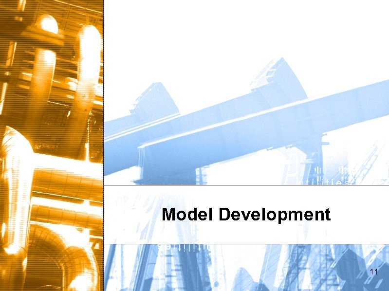 Model Development 11