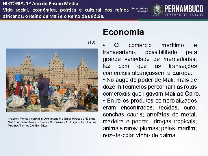 HISTÓRIA, 1º Ano do Ensino Médio Vida social, econômica, política e cultural dos reinos